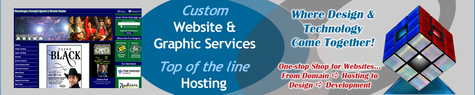 Custom Website Design and Hosting