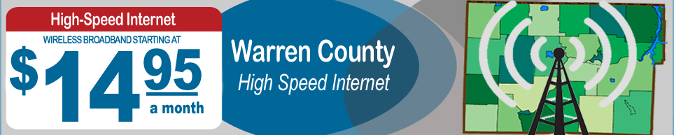 Wireless Broadband Internet in Rural Warren County